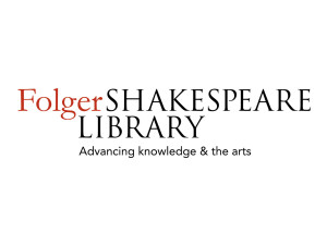 The Folger Library offers free resources for teachers at www.folger.edu.