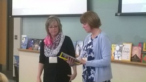 Delia King and Kathy Kurtze present at the CRWP Annual Writing Conference in January.