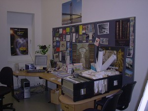 A Librarian's Desk from Flickr user library_mistress https://www.flickr.com/photos/library_mistress.