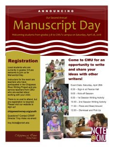 Manuscript Day Brochure 2018