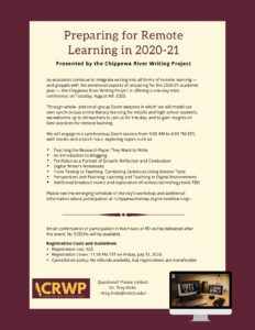 CRWP - August 2020 - One Day Virtual Mini-Conference